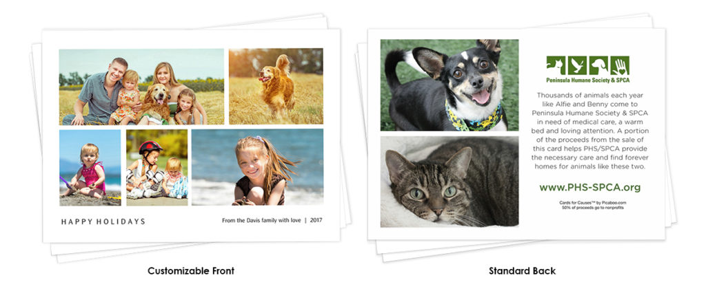 your holiday cards will be shipped directly to you - Humane Society Christmas Cards